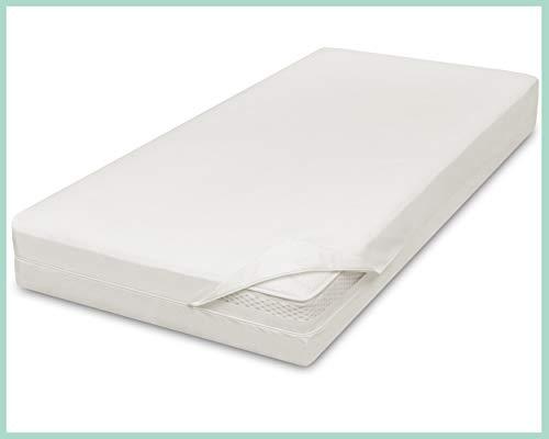 Allsana Allergiker Matratzenbezug 80x200x20 cm Allergie Bettwäsche Anti Milben Encasing Milbenschutz für Hausstauballergiker