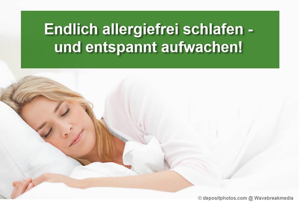 Allergie- und milbenfrei schlafen